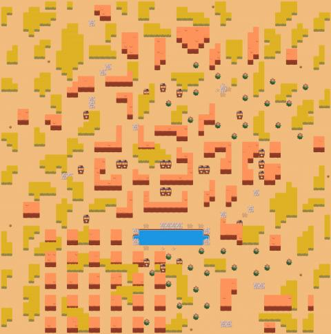 Showdown Map Skull Creek