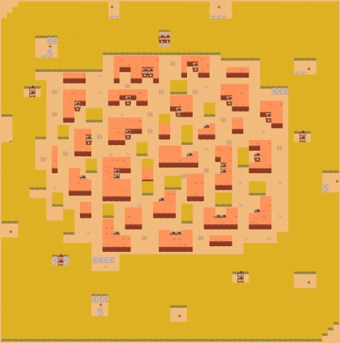Showdown Map Stormy Plains